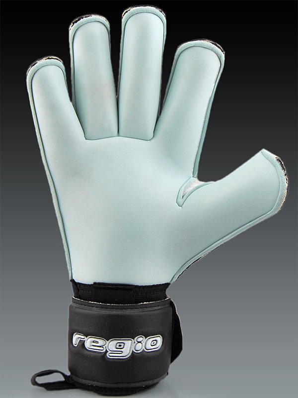 Goalkeepers gloves Regio AQUA ROLL BLACK CAT