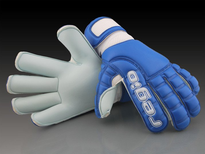 Regio goalkeeper gloves AQUA BLUE ROLL