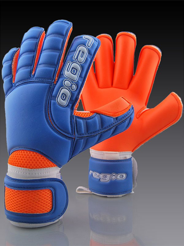 98a8dedb684 Regio goalkeeper gloves GIGA GRIP ROLL BLUE ORANGE