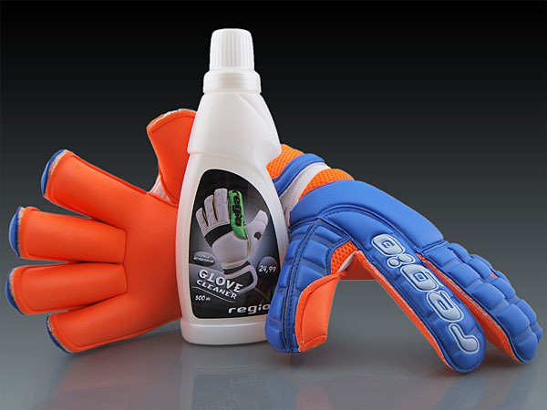 Regio goalkeeper gloves GIGA GRIP ROLL BLUE/ORANGE